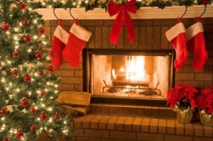 Christmas Stocking Fireplace Decoration Ideas 53 - Robinsuites.co with regard to Christmas Stockings Fireplace